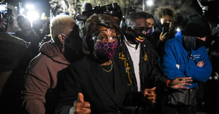 Maxine Waters told cameras that racial justice protesters should stay in the streets, fight for justice, and get more confrontational.