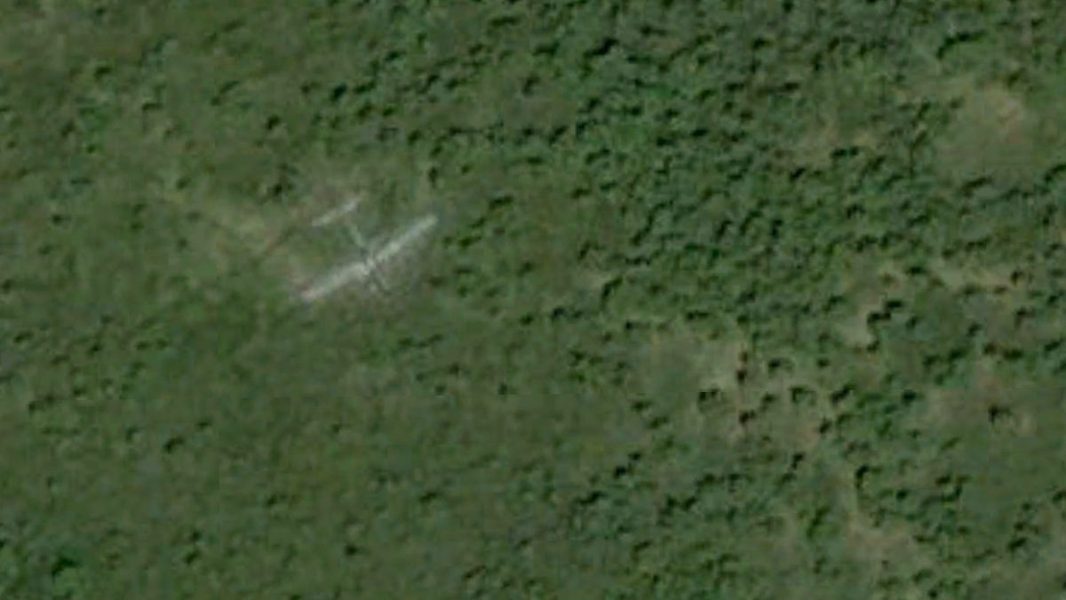 Its true that the Swamp Ghost B-17E bomber from World War II was found in 1972.