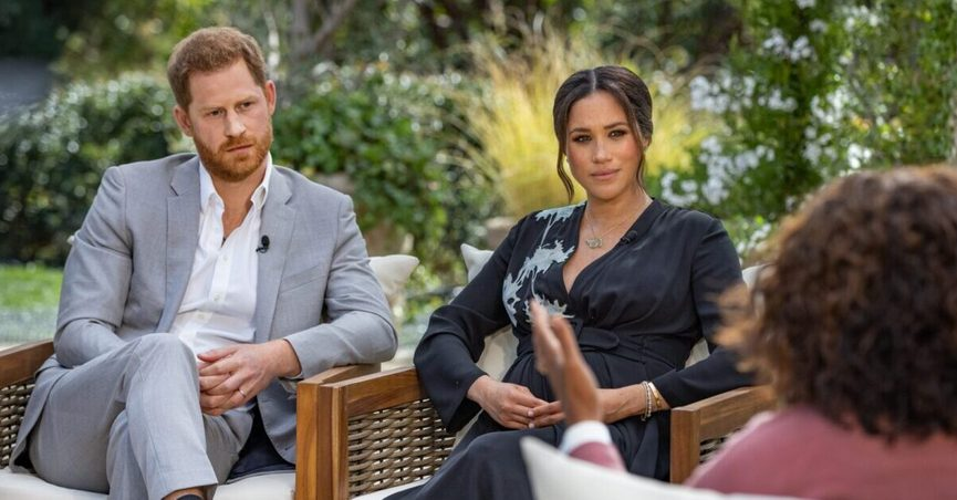 A Fox and Friends video clip was shared on Twitter with claims about Prince Philips death Oprah Meghan and Harry.