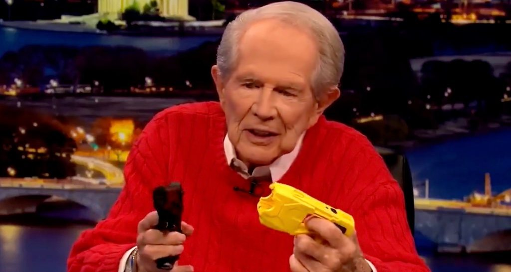 Did Pat Robertson Sharply Criticize Police Use of Force?