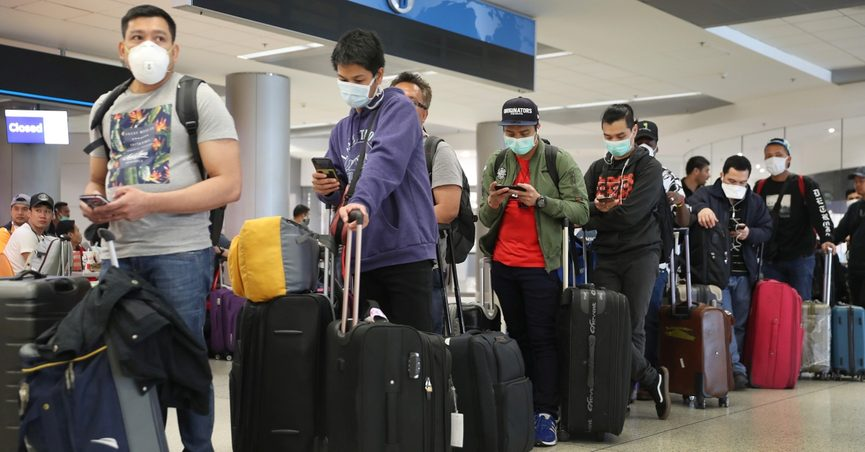 U.S. airlines could start weighing passengers before boarding flights.