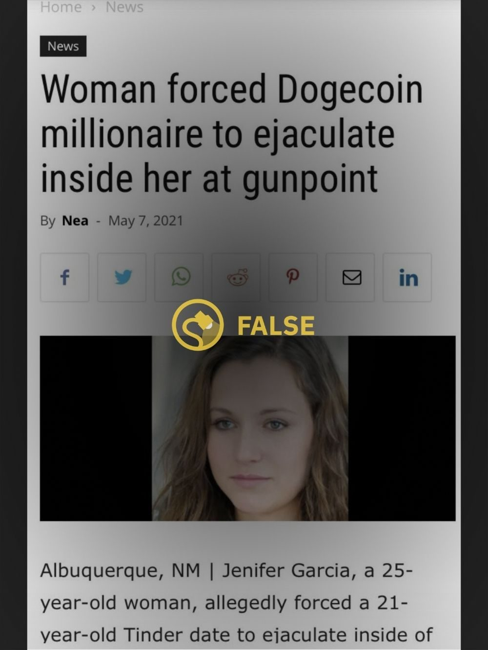 Did a Woman Force Dogecoin Millionaire To Impregnate Her?