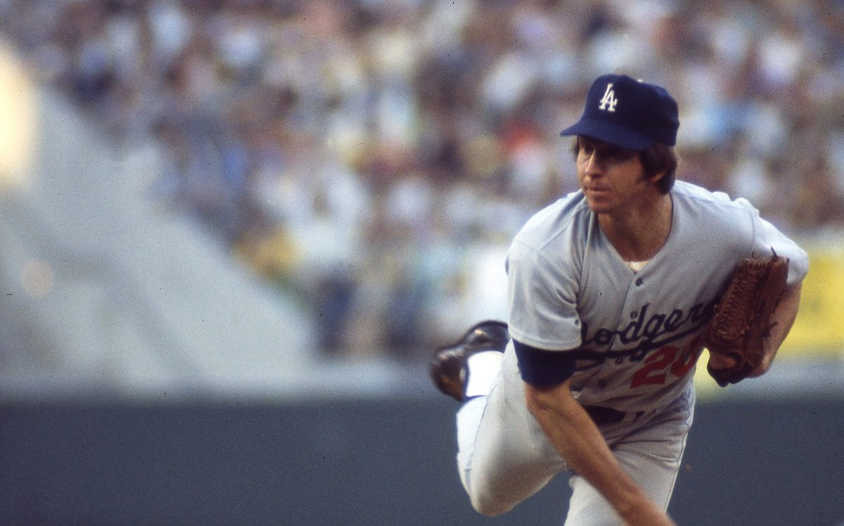 Don Sutton, pitcher for the Los Angeles Dodgers