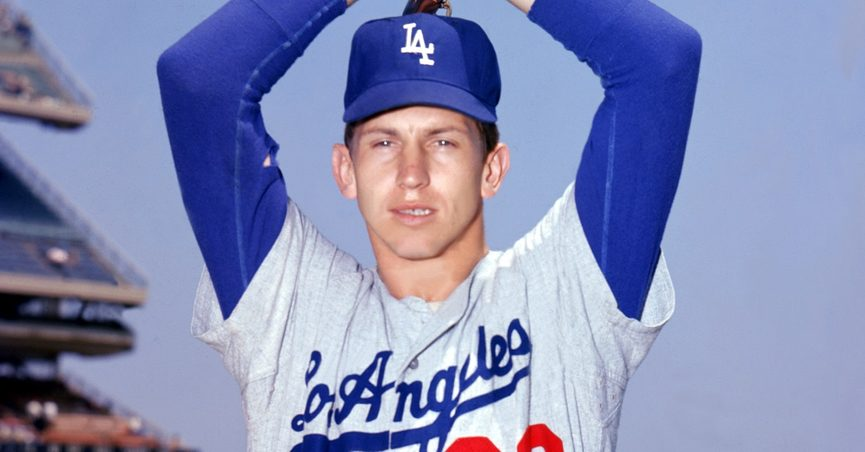 Don Sutton of the Los Angeles Dodgers
