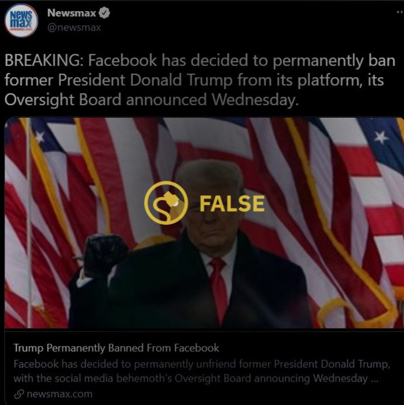 Was Trump Banned for Life From Facebook?