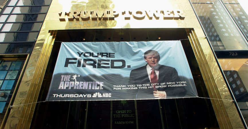 Its true that NBC fired Donald Trump from The Apprentice in 2015 and also The Celebrity Apprentice.
