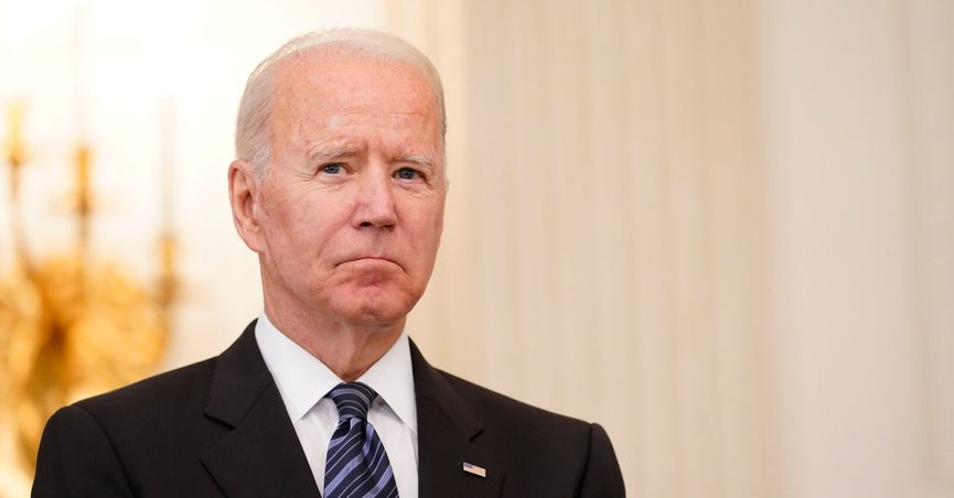 President Joe Biden listens as Attorney General Merrick Garland speaks during an event in the State Dining room of the White House in Washington, Wednesday, June 23, 2021, to discuss gun crime prevention strategy. (AP Photo/Susan Walsh)