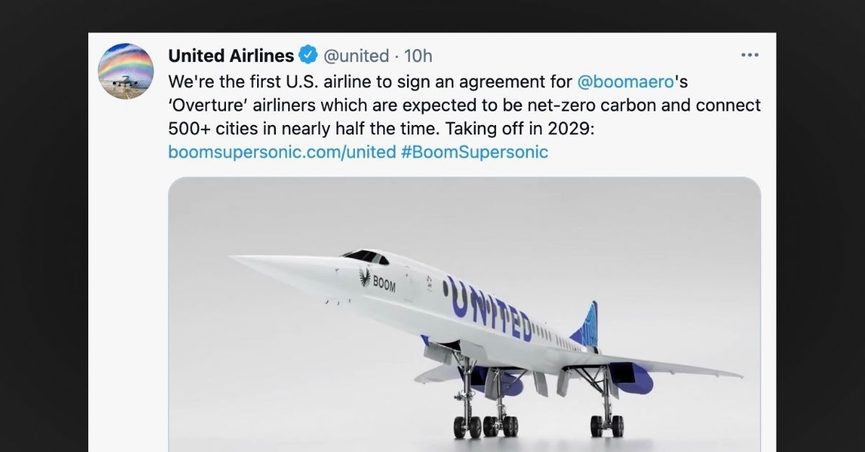 Is United Bringing Back Supersonic Travel?