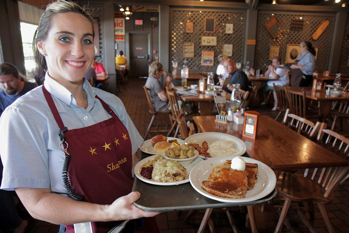 Cracker Barrel's menu was not going anywhere anytime soon and the stores and restaurants were not closing despite misleading ads.