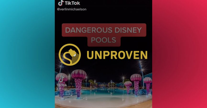 Disney purportedly stopped piping underwater audio into the Big Blue Pool that was themed for Nemo at the Art of Animation resort in Florida because of drowning risk.