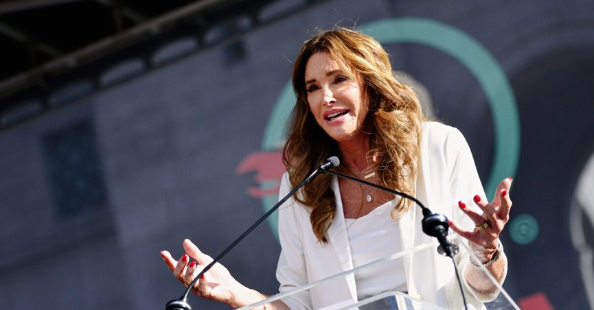Caitlyn Jenner proposed moving homeless people living on Venice Beach to big open fields.