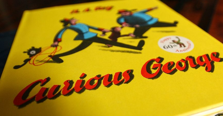 Does Curious George 'Get High' on Ether in an Old Children's Book?