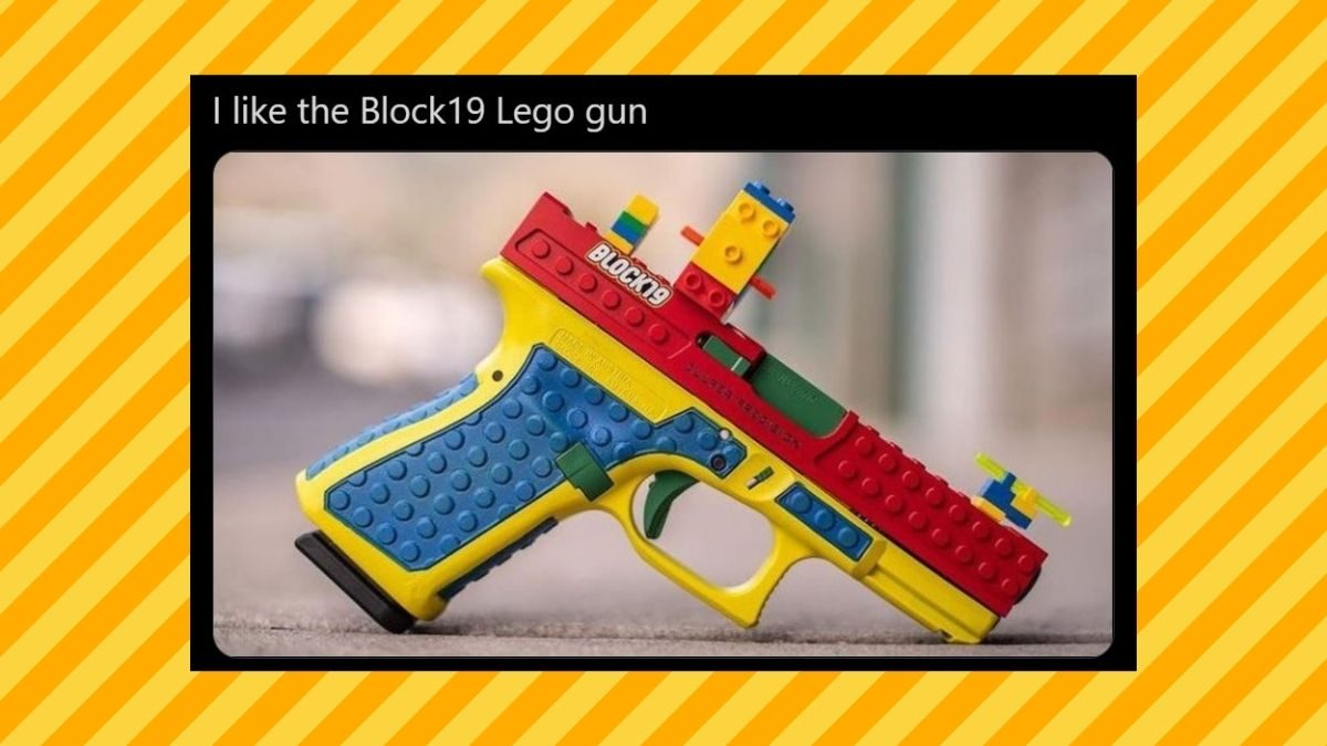Is This 'Lego Gun' Real? - snopes