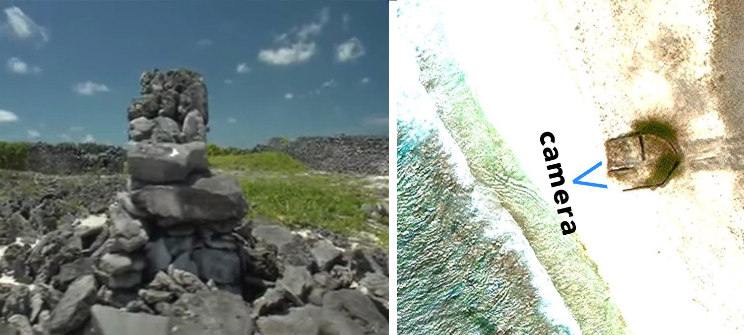 Starbuck Island was featured on Google Earth and some thought it was a rock or structure and others asked what is on Starbuck Island.
