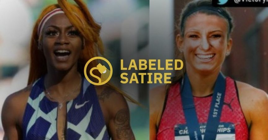 Olympic athlete Sha'Carri Richardson was replaced by Rebecca Washington a Mormon athlete with an anti-drug stance after Richardson tested positive for marijuana use.