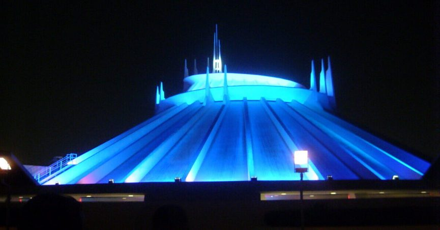 A Space Mountain Disneyland prank involving a boy and girl who didn't meet the height requirements for the ride and resulted in one of them pretending to be dead and missing was all fake.