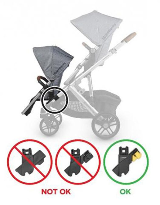 UPPAbaby stroller RumbleSeat adapters were recalled after it was found they may pose a child fall hazard for babies and toddlers.