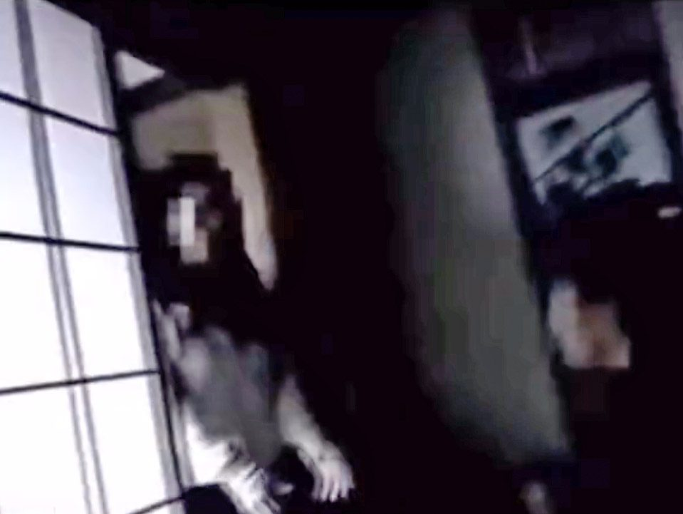 The faces in the closet viral video is on TikTok and might be a Japanese horror film.