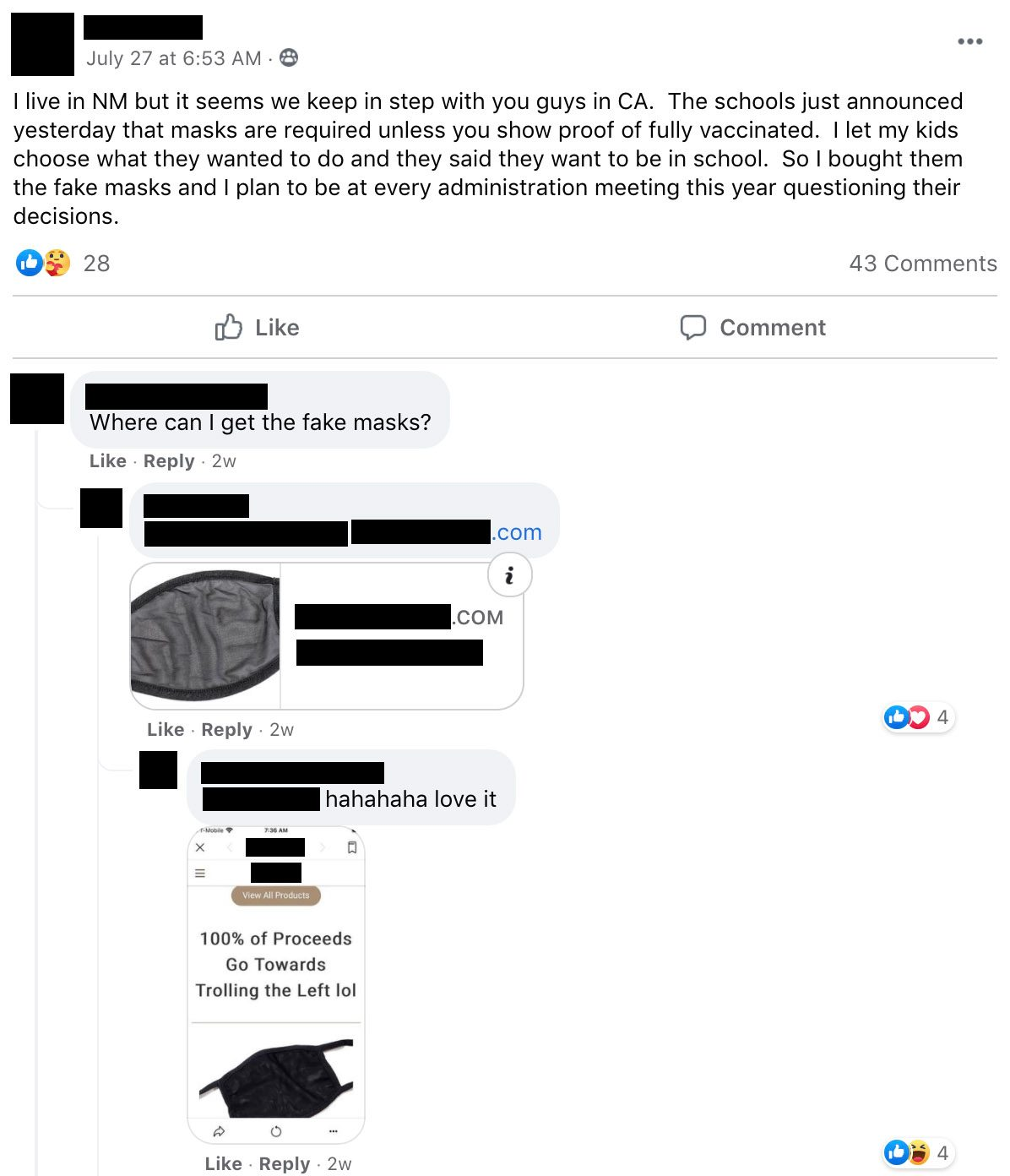 A Facebook meme pushed COVID denialism about overwhelmed hospitals in Florida.