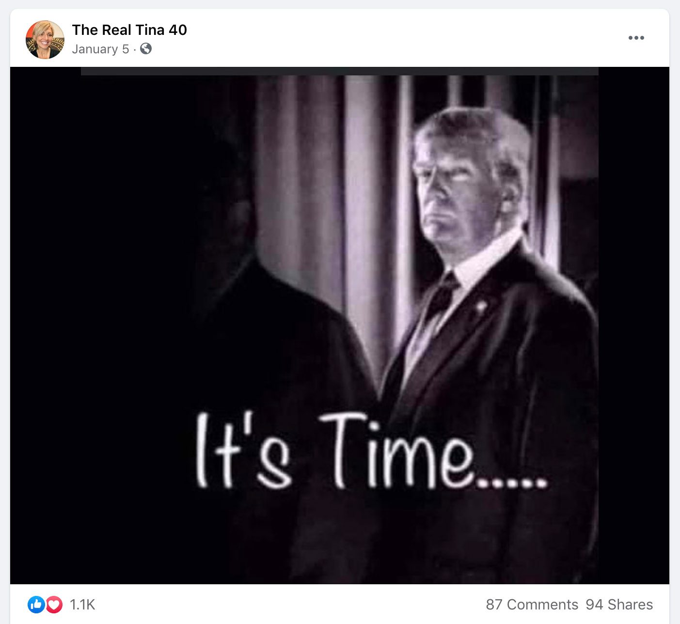 Tina Forte was at the Capitol riot on January 6 and also has posted QAnon content and debunked election conspiracy theories.
