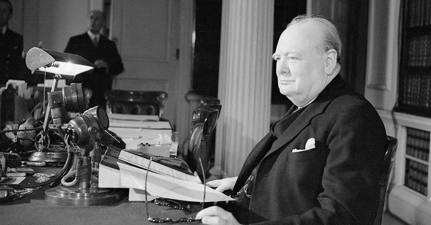 Did Winston Churchill once say that a nation that forgets its past has no future or condemns its future or doomed to repeat it.