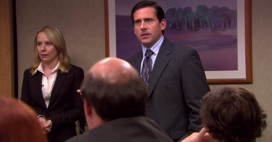 An earthquake once occurred on the set of The Office.