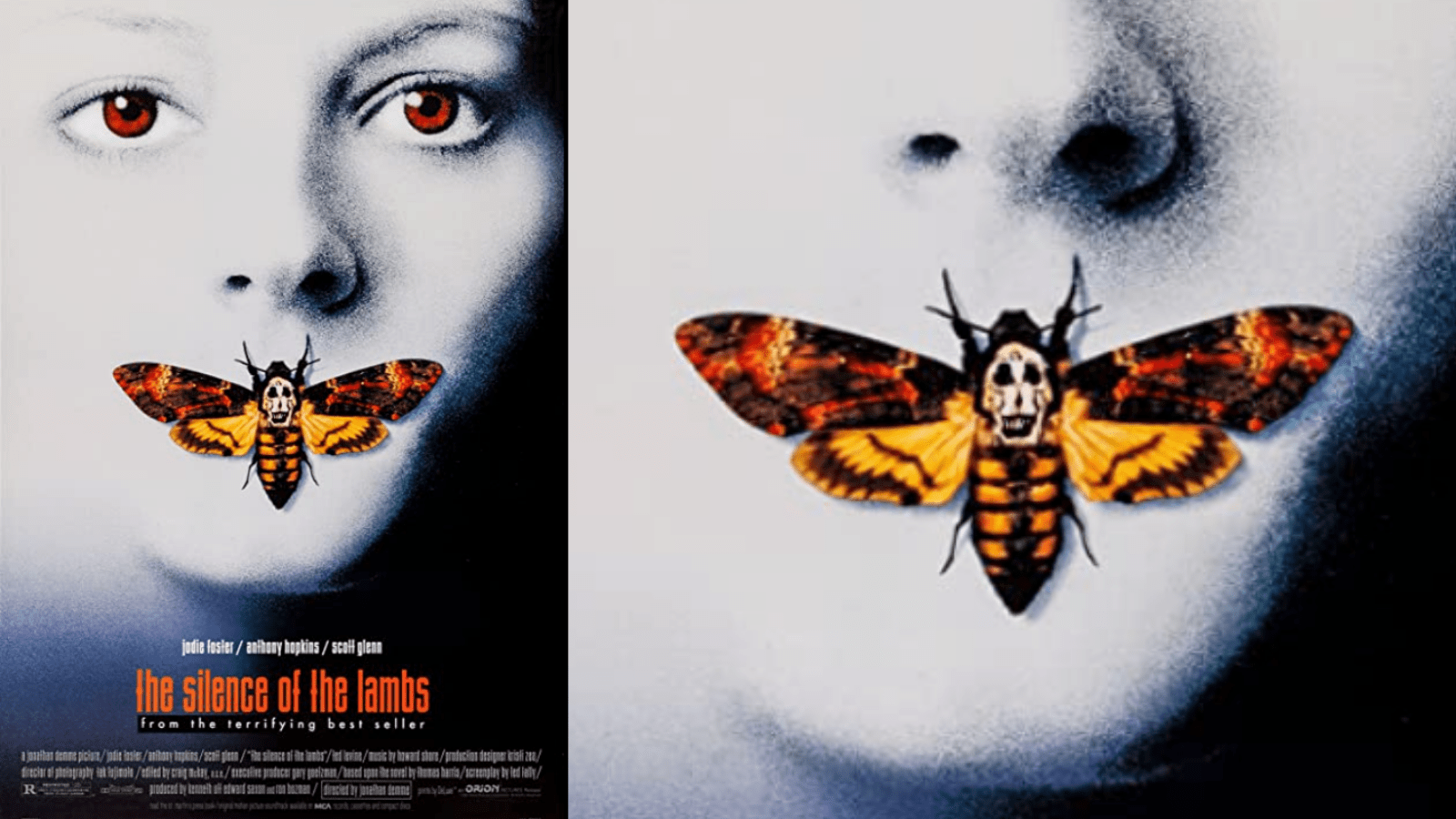 Is This True About Moth on 'Silence of the Lambs' Poster?