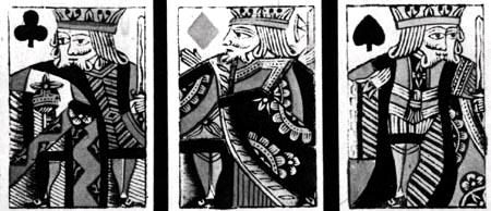 Cards made for George III