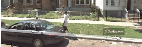 Google Maps Image Captured a Shooting in Chicago?