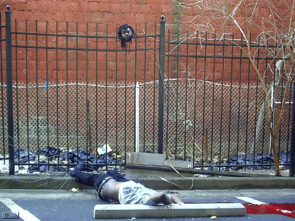Man Decapitated by Wrought Iron Fence