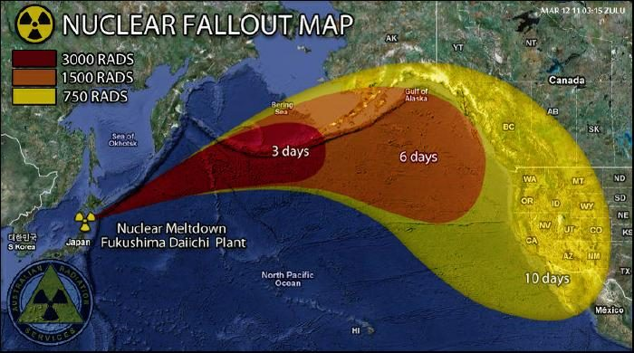 Fukushima radiation fish snopes