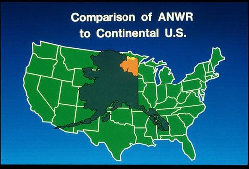 Anwr Alaska Map.Fact Check The Truth About Anwr