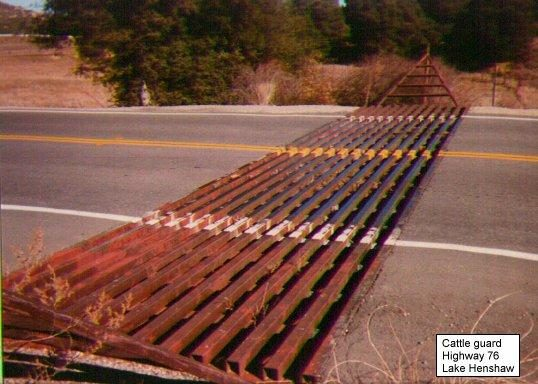Obama cattle guard comment
