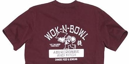 Abercrombie fitch asian style t shirts