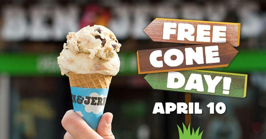 free cone day ben and jerrys 2019