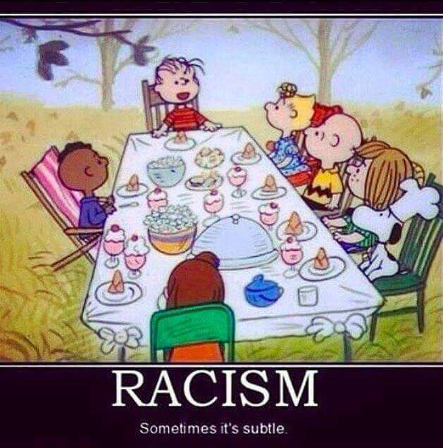 Black Boy Quotes And Page Numbers About Racism: You're A Racist, Charlie Brown?