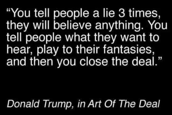 Fake Trump Quote Snopes Custom The Art Of The Deal Quotes
