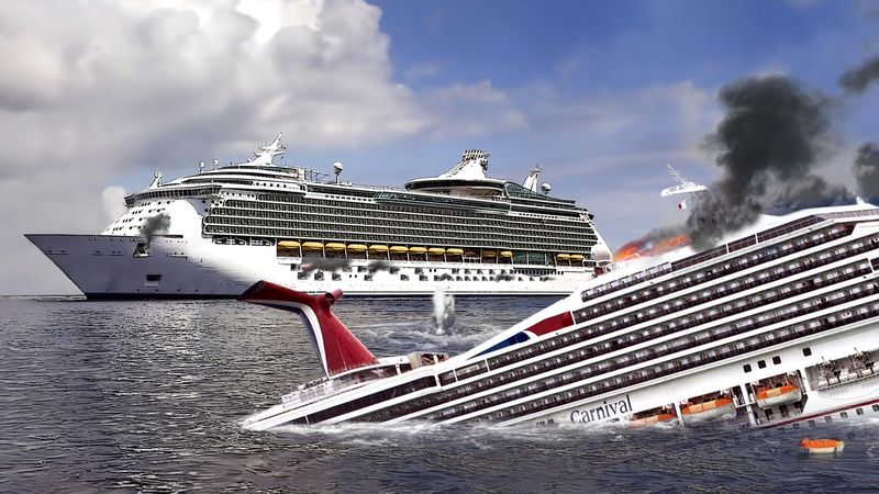 Fact Check Shelling From Royal Caribbean S M S Allure Sinks Carnival Cruise Vessel That Crossed Into Disputed Waters