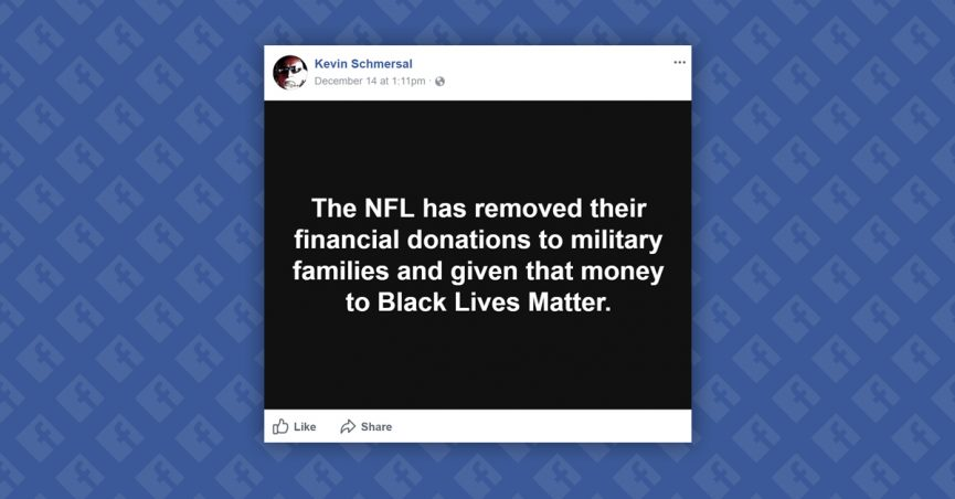 FACT CHECK: Did the NFL Stop Donations to Breast Cancer and