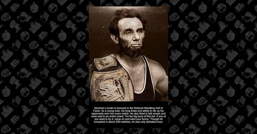 befa7ae9 FACT CHECK: Is Abraham Lincoln in the Wrestling Hall of Fame?