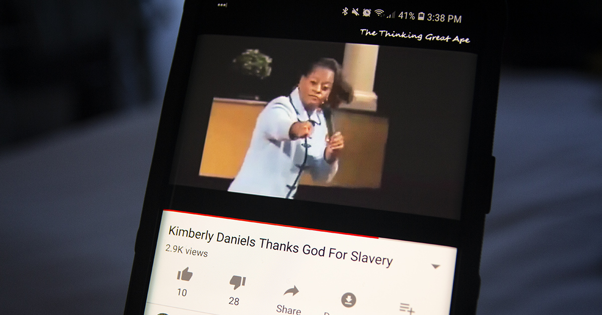 Did Florida State Rep  Kimberly Daniels Once Say, 'I Thank God for