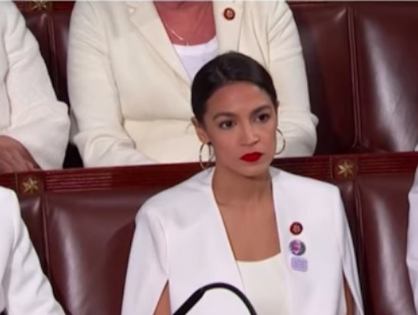 Is This A Photo Of Alexandria Ocasio Cortez Being Held In