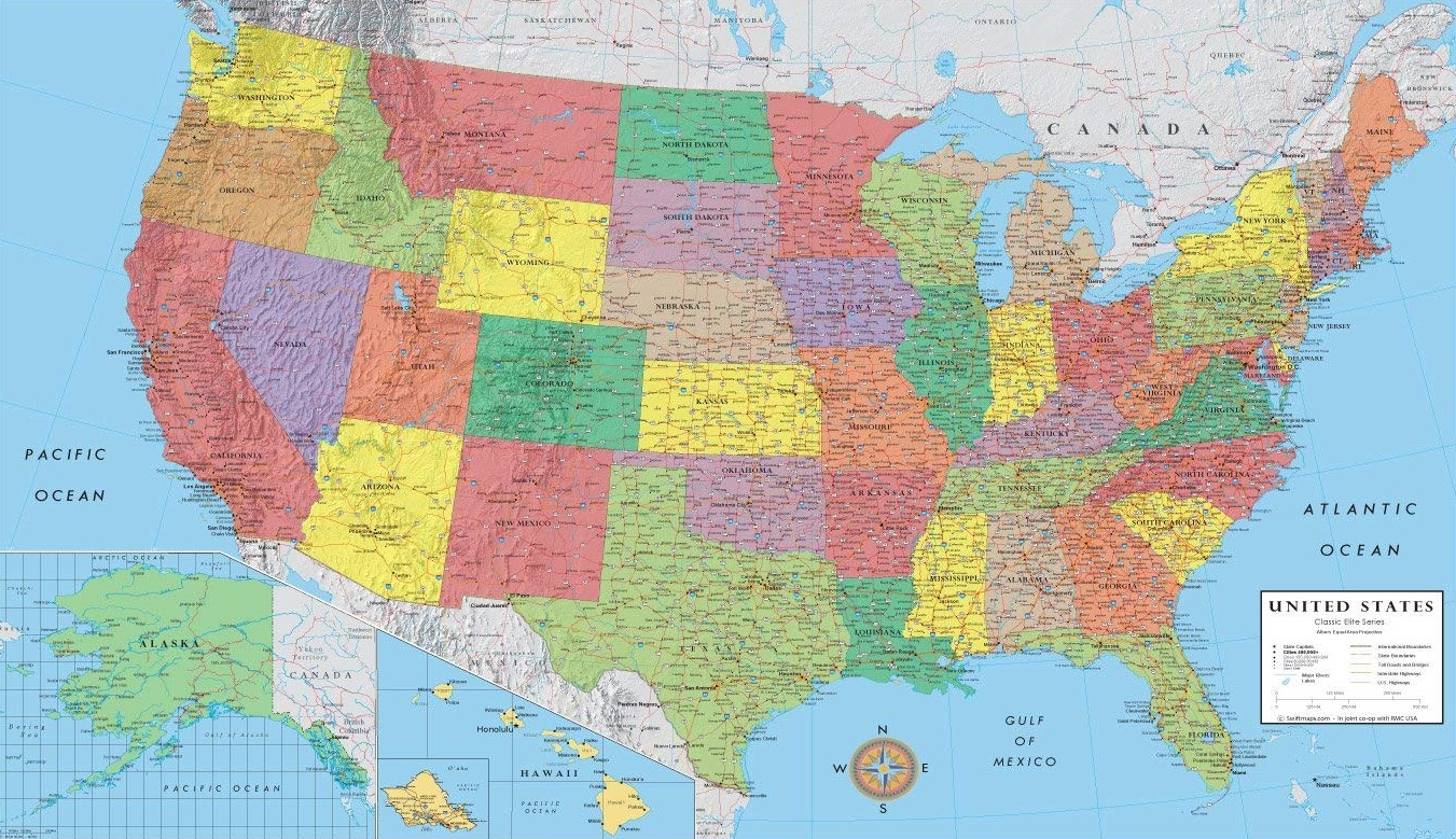 Does This Map Show Why We Need the Electoral College?